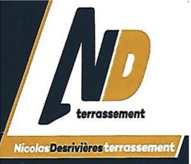 Logo Nicolas Desrivières terrassement